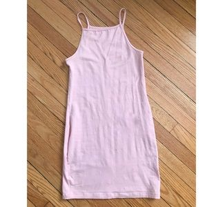 Pink American Apparel Bodycon Dress